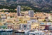 image of hercules  - Port Hercules in the principality of Monaco - JPG