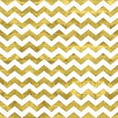 stock photo of pattern  - White and gold pattern - JPG