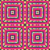 stock photo of color geometric shape  - Abstract geometric pattern - JPG