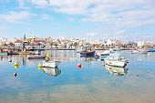 picture of lagos  - The harbor from Lagos in Portugal - JPG
