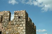 Square Tower Of Medieval Castle poster