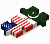 pic of pakistani flag  - Vector Image  - JPG