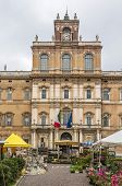 foto of duke  - The Ducal Palace of Modena is a Baroque palace in Modena Italy - JPG