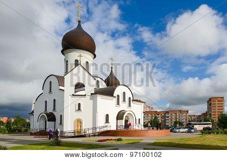 The Pokrovo- Nicholas Church, Klaipeda, Lithuania