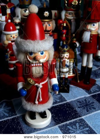 Old Santa Nutcracker