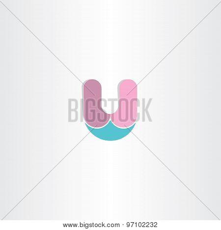 Logo Letter U Symbol Design