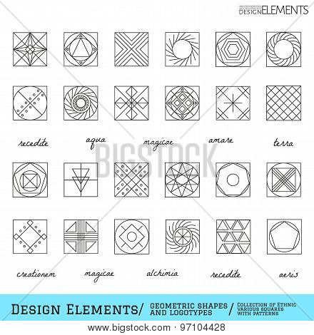 Set Of Geometric Hipster Shapes And Logotypes65488117