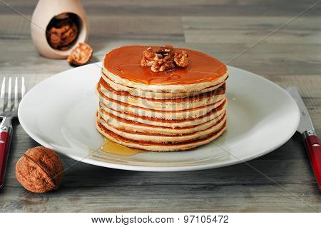 Breakfast Of Pancakes