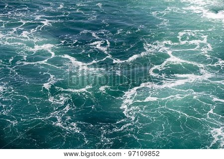 Seawater With Foam