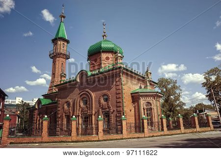 Old vintage church in Russia