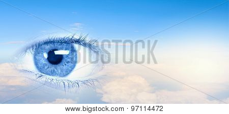 Eye of sky