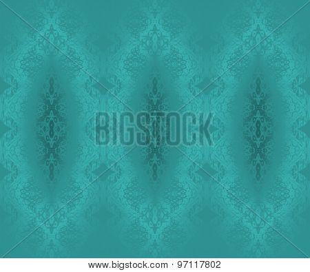Seamless pattern turquoise
