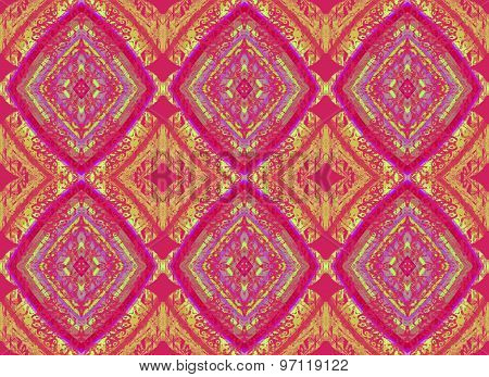 Seamless pattern purple ocher
