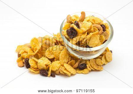 Homemade Cornflakes Caramel Honey