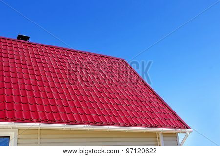 New Red Roof Tiles.