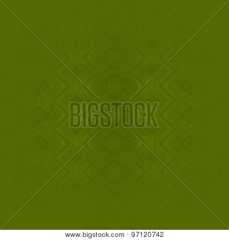 Seamless pattern olive green