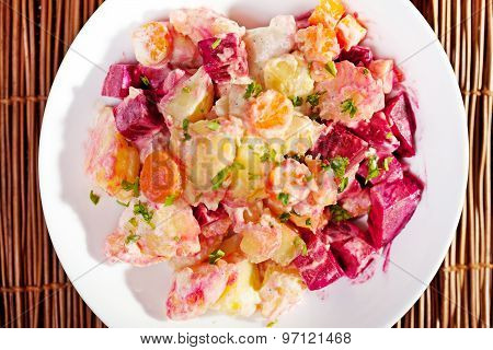 Potato And Beet Salad