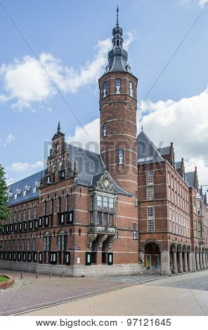 Province House In The Historical Center Of Groningen