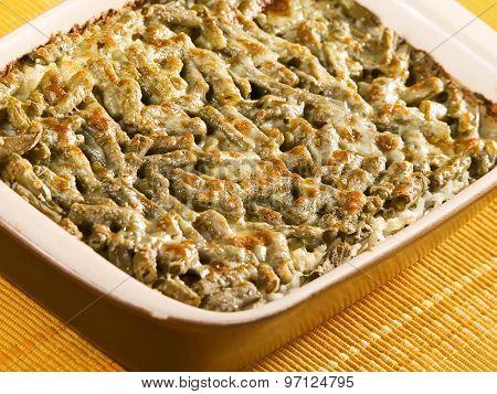 Beans And Mozzarella Casserole