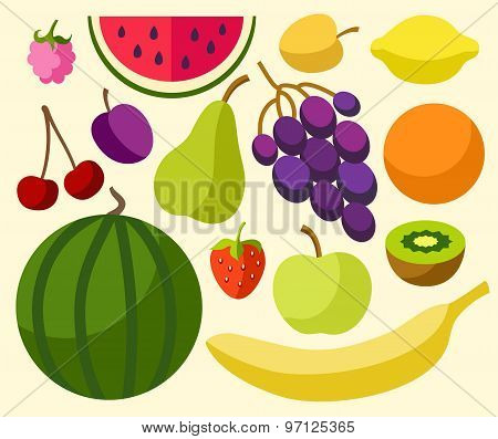 Fruits, Berries, Ripe, Colore...