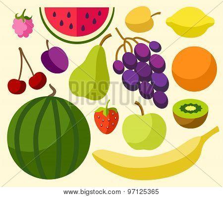 Fruits, Berries, Ripe, Colore...