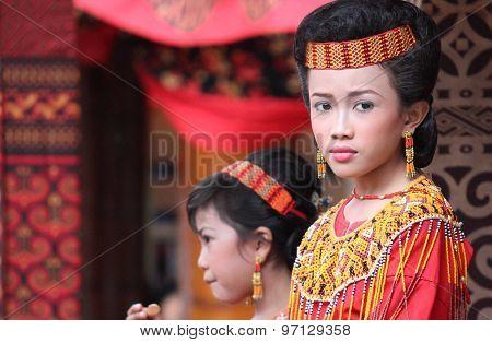 Beautiful Young Torajan Girls