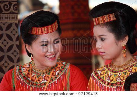 Two Torajan Girls