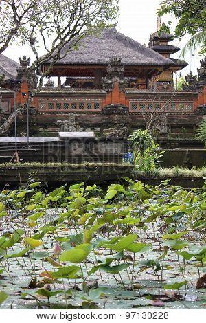 Bali Saraswati Temple In Bali