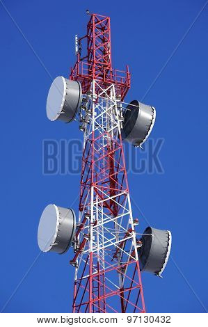 Cell Tower Closeup
