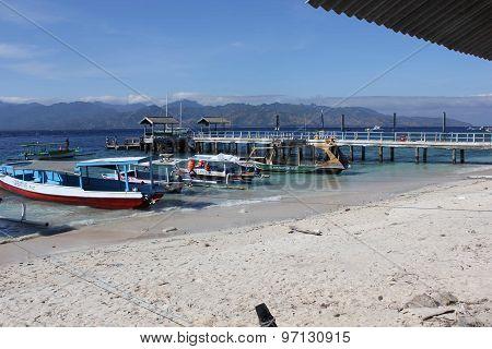 Gili Islands Harbour