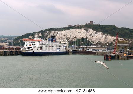Port Of Dover, England