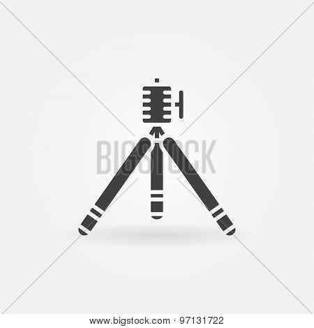 Tripod icon or logo