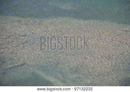 Photo surface of water in the river