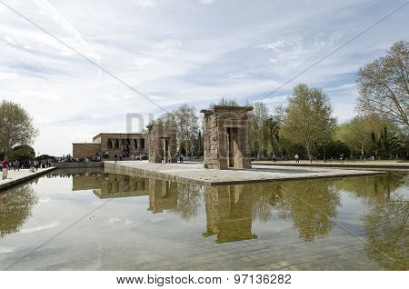 Temple of Debod (Madrid, Spain)