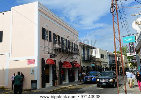 Dronningens Gade, Charlotte Amalie, US Virgin Islands