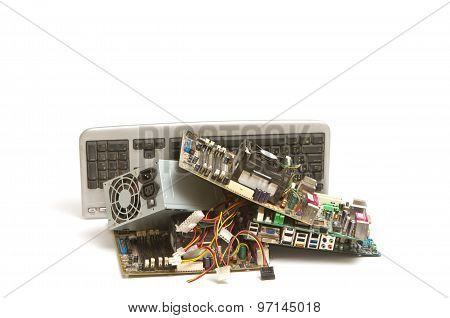 Electronic And Computer Parts Waste