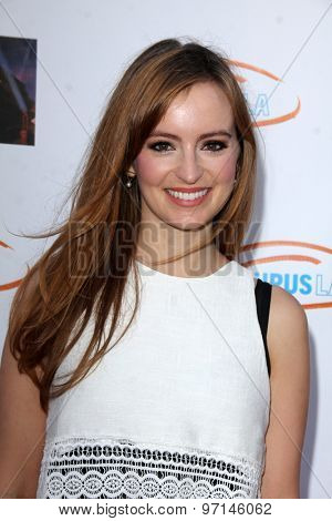 LOS ANGELES - JUN 6:  Ahna O'Reilly at the Lupus LA Orange Ball  at the Fox Studios on June 6, 2015 in Century City, CA