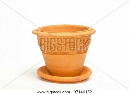 Clay Vintage Vase