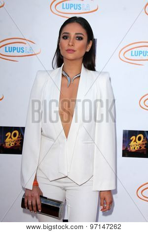 LOS ANGELES - JUN 6:  Tasha Smith at the Lupus LA Orange Ball  at the Fox Studios on June 6, 2015 in Century City, CA