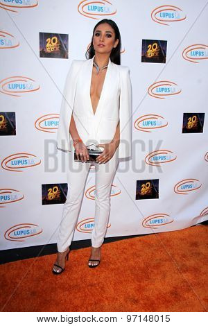 LOS ANGELES - JUN 6:  Shay Mitchell at the Lupus LA Orange Ball  at the Fox Studios on June 6, 2015 in Century City, CA