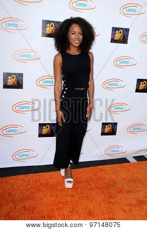LOS ANGELES - JUN 6:  Serayah at the Lupus LA Orange Ball  at the Fox Studios on June 6, 2015 in Century City, CA