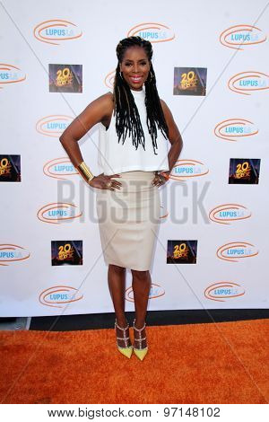 LOS ANGELES - JUN 6:  Tasha Smith at the Lupus LA Orange Ball  at the Fox Studios on June 6, 2015 in Century City, CA