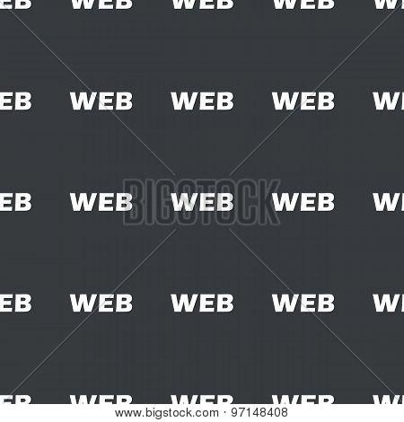 Straight black WEB pattern