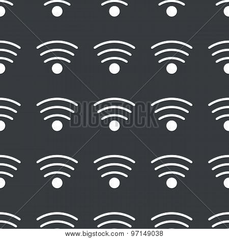 Straight black Wi-Fi pattern