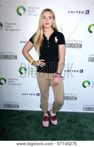 LOS ANGELES - JUN 8:  Kathryn Newton at the SAG Foundations 30TH Anniversary LA Golf Classi at the Lakeside Golf Club on June 8, 2015 in Toluca Lake, CA