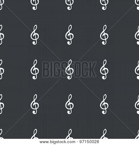 Straight black music pattern