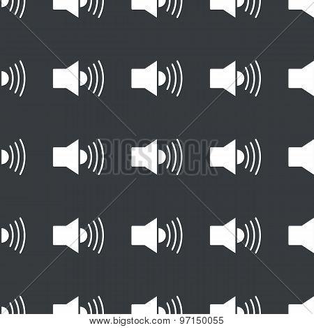 Straight black loudspeaker pattern