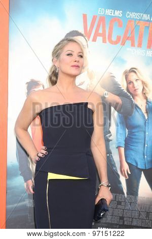 LOS ANGELES - JUL 27:  Christina Applegate at the