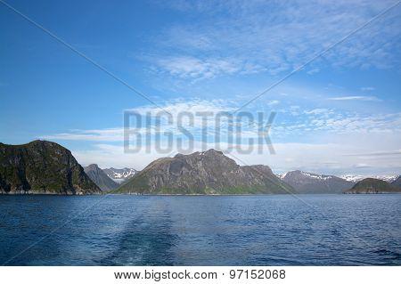 Gryllefjorden And Torskefjorden, Senja, Norway