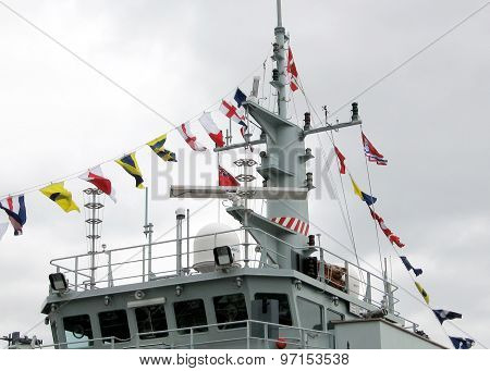 Kingston Naval Signal Flags Of Warship 2008